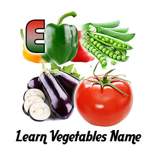 Learn Vegetables Name Thumb