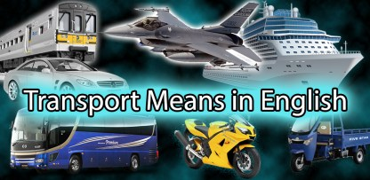 Transport Means in English (1)