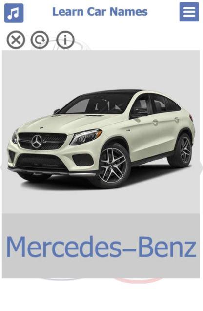 Car Names Motor Vehicle