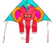 Small elephant designer kite - Single line kite - FLY360 kite store