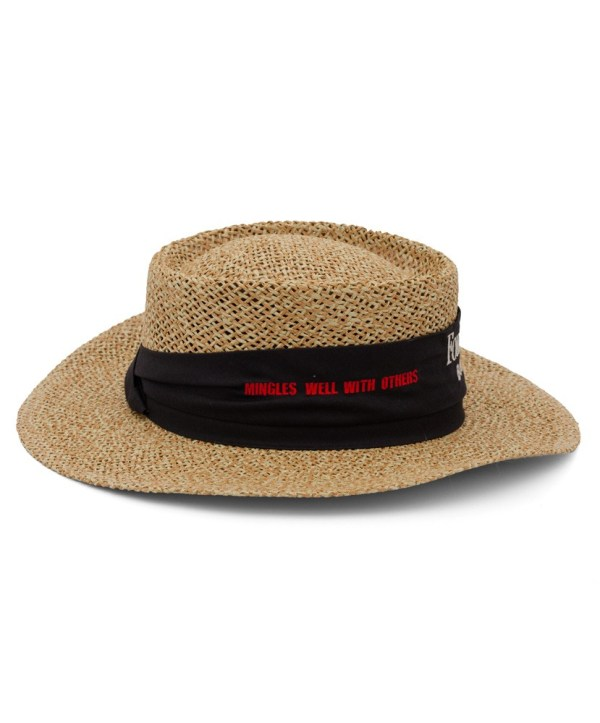 Four Roses Straw Golfer Hat