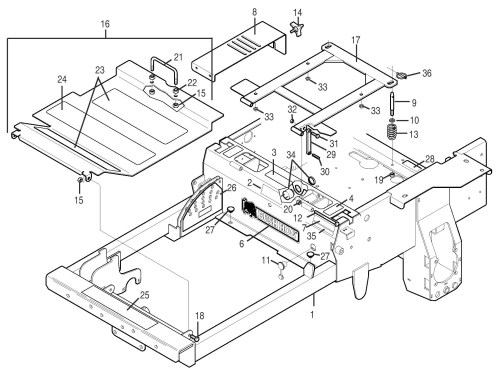 small resolution of bush hog pz professional series zero turn mowers parts pz