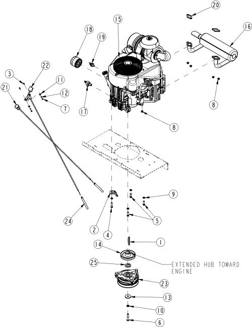 small resolution of land pride razor zsr54 zero turn mower engine assembly kawasaki 23 5 kawasaki 460 1 2 hp wiring diagrams