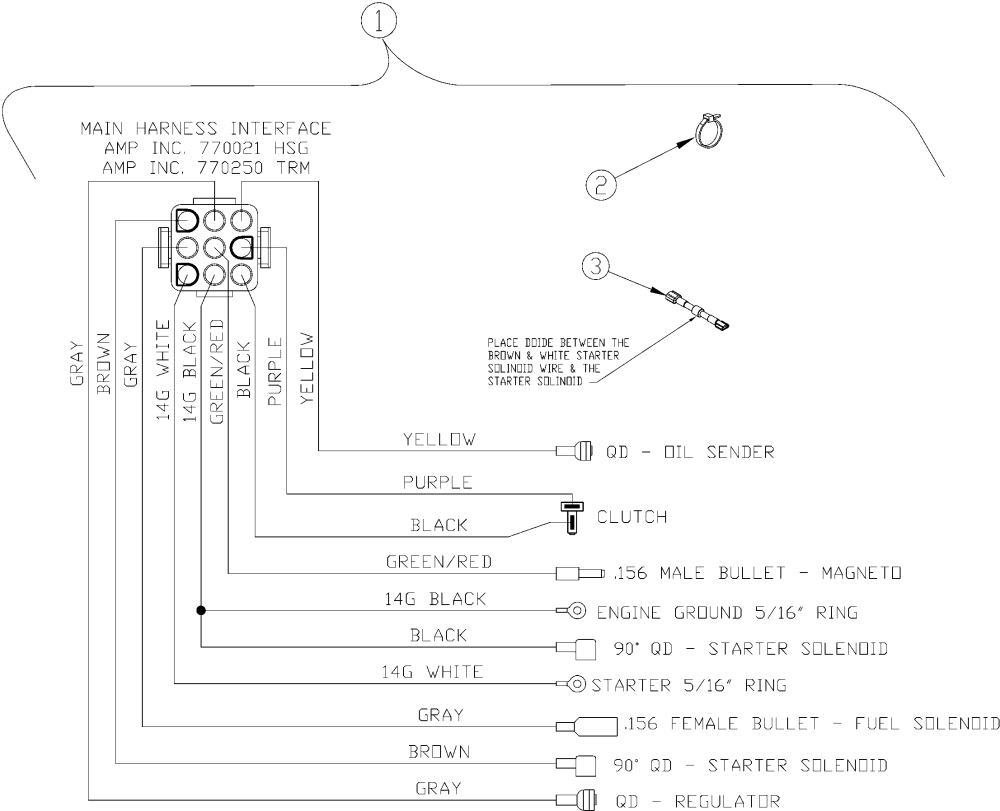 medium resolution of image of electrical wiring schematic kawasaki engine hover over image for expanded view
