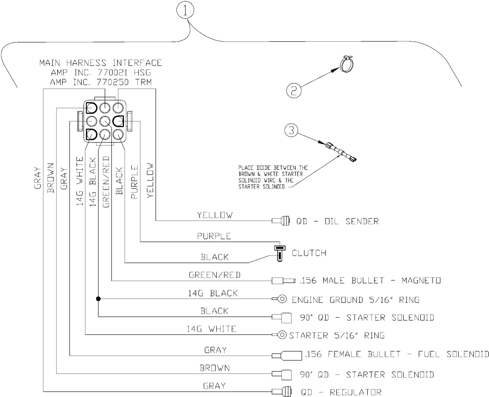 hight resolution of image of electrical wiring schematic kawasaki engine hover over image for expanded view