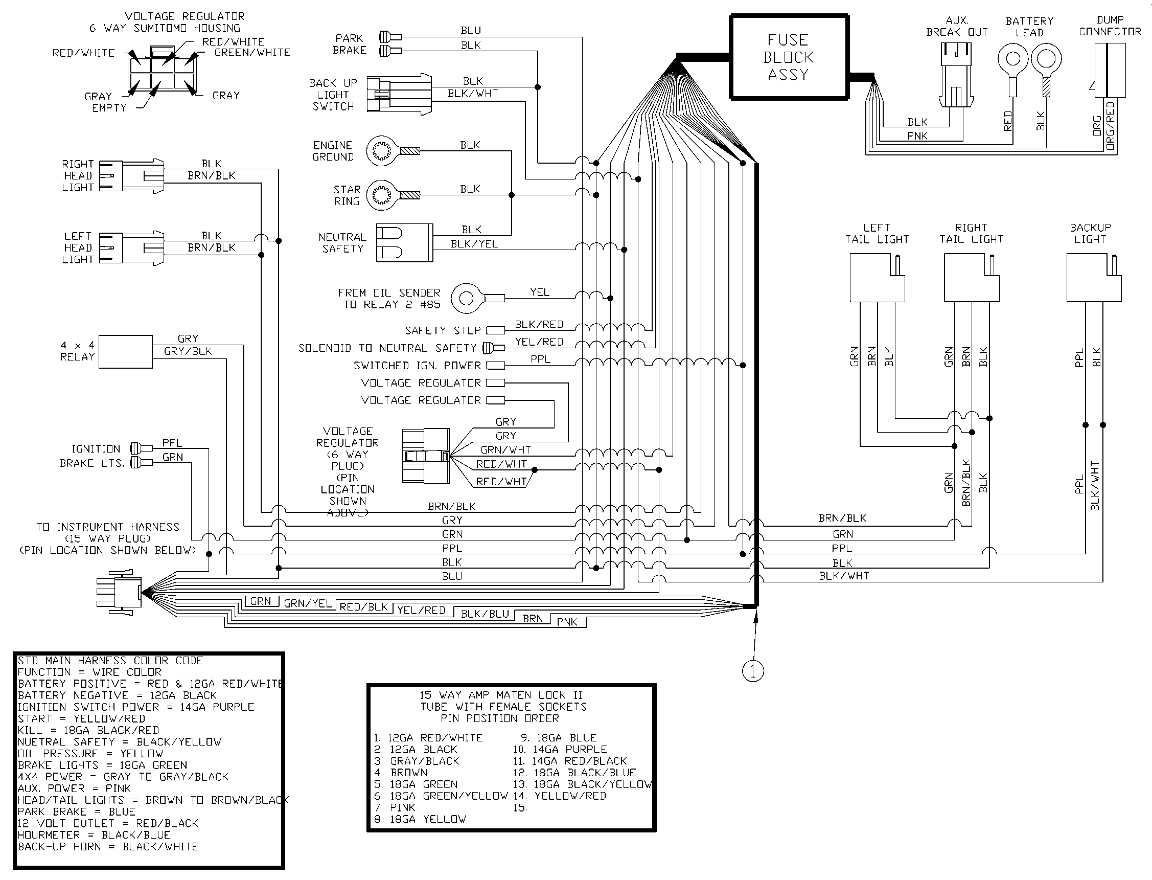 Vehicle Electrical Wiring Diagram
