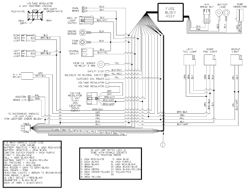 small resolution of land pride treker 4400nt vehicle electrical wiring schematic main notes