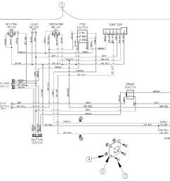 mower wiring diagram hover over image for expanded view  [ 2254 x 1625 Pixel ]