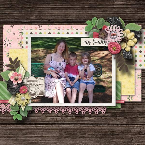 GingerScraps Kits Family Time