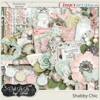 GingerScraps :: Kits :: Shabby Chic Digital Scrapbook Kit