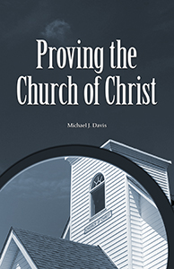 Proving the Church of Christ (cover)