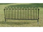 Granite Black Tie 8 ft Premium Fencing - 20 sections per pack