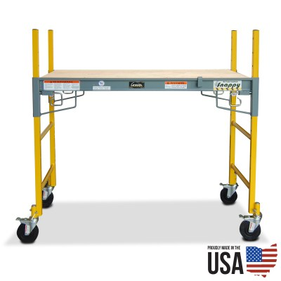 Granite Snappy Jr. Mini Scaffold - 4' platform