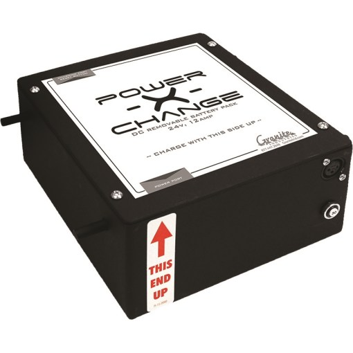 Overland Power-X-Change Removeable Battery Pack - 24V, 12A