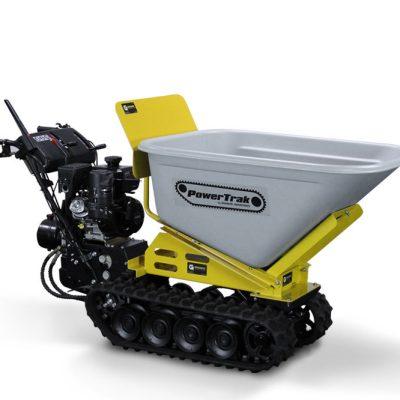 Granite PowerTrak 1100 Gas Powered Wheelbarrow - 10 Cu. Ft. Hopper