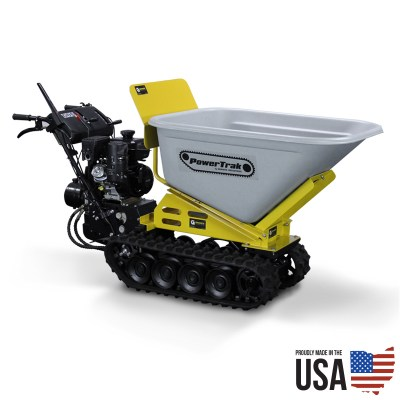 PowerTrak Gas Powered Wheelbarrow