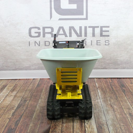 Granite PowerTrak 750 Gas Powered Wheelbarrow - 8 Cu. Ft. Hopper