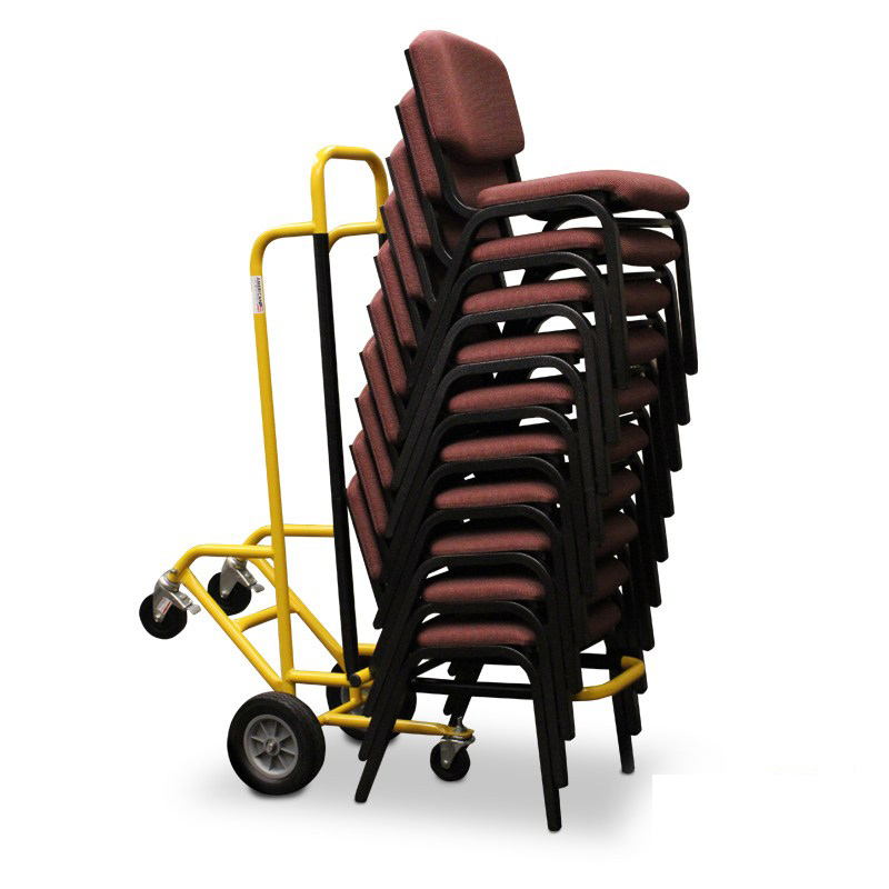 stackable chair cart 10 chairs