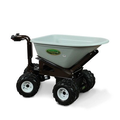 Overland Electric Wheelbarrow – 7 cu. ft. with 4WD