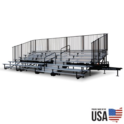 Fold-N-Tow Portable Bleachers