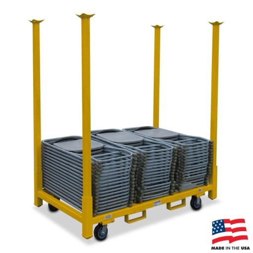 American Cart Table Storage Cart