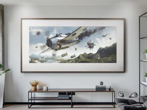 Battle of Philippine Sea - Artwork - Large Print Unframed image 2 on GreatBritishMotorShows.com