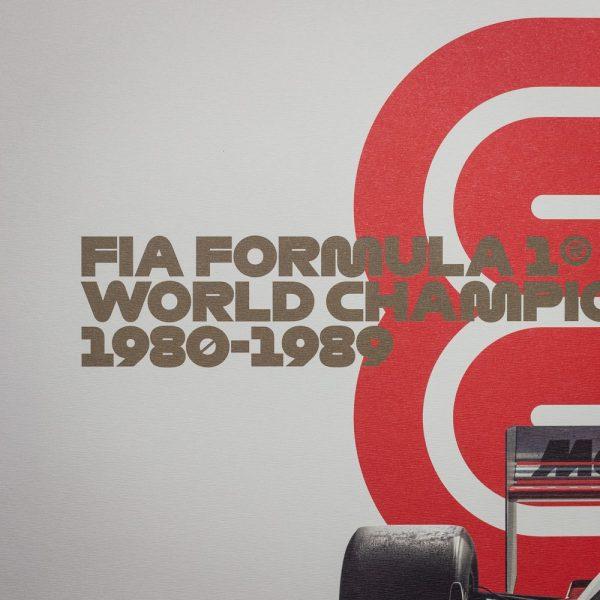 FORMULA 1® DECADES - 80s McLaren   Limited Edition image 5 on GreatBritishMotorShows.com