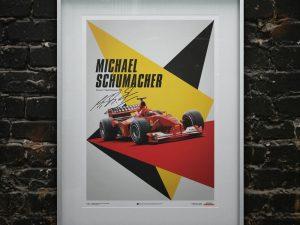 Ferrari F1-2000 - Michael Schumacher - Germany - Suzuka GP - Poster image 2 on GreatBritishMotorShows.com