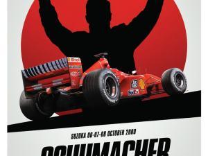 Ferrari F1-2000 - Michael Schumacher - Japan - Suzuka GP - Poster image 1 on GreatBritishMotorShows.com