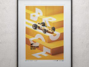 McLaren Papaya - Bruce McLaren special - Spa-Francorchamps Circuit - 1968   Limited Edition image 2 on GreatBritishMotorShows.com