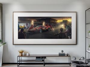 My Childhood Champion - Artwork - Large Print Unframed image 2 on GreatBritishMotorShows.com