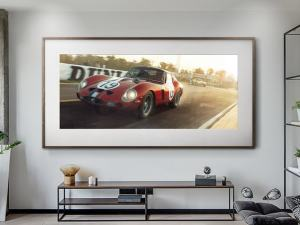 Not Sterling Without Stirling - Artwork - Large Print Unframed image 2 on GreatBritishMotorShows.com