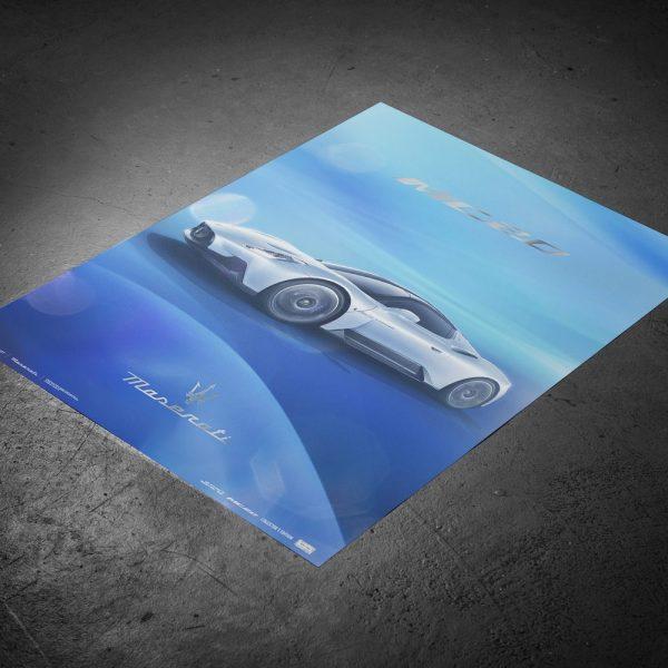 Maserati Corse 2020 | MC20 Side | Collector's Edition image 9 on GreatBritishMotorShows.com