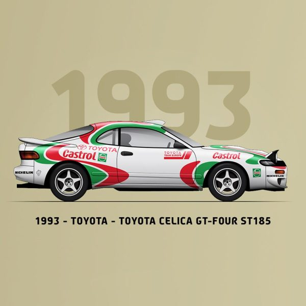 WRC Constructors' Champions 1973-2019 - 47th Anniversary | Limited Edition image 12 on GreatBritishMotorShows.com