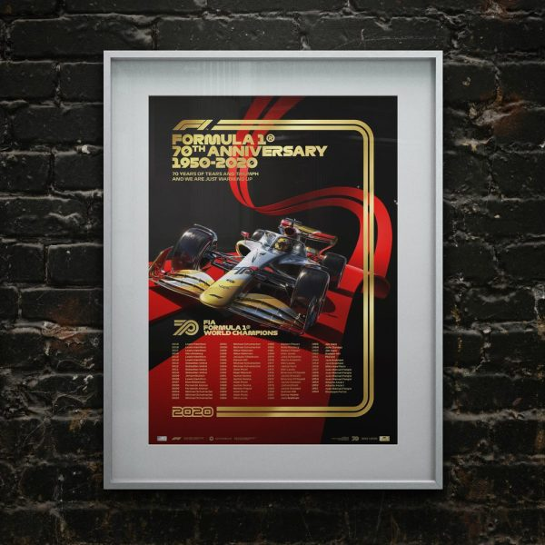 FIA Formula 1® World Champions 1950 - 2019 - Platinum Anniversary Edition | Unique #s - #59 - 1959 Jack Brabham image 4 on GreatBritishMotorShows.com