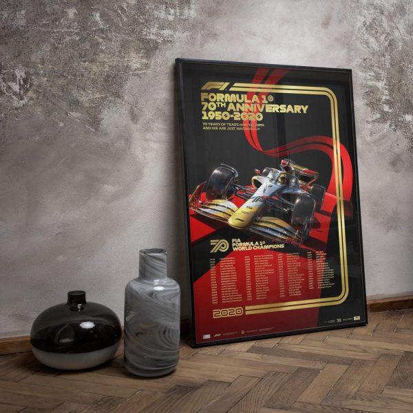 FIA Formula 1® World Champions 1950 - 2019 - Platinum Anniversary Edition | Unique #s - #59 - 1959 Jack Brabham image 10 on GreatBritishMotorShows.com
