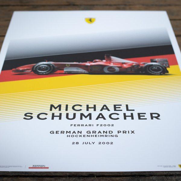 Ferrari F2002 - Michael Schumacher - German Grand Prix - 2002   Limited Edition image 9 on GreatBritishMotorShows.com