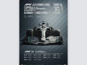 FORMULA 1® DECADES - 2010s Mercedes-AMG Petronas F1 Team | Collector's Edition