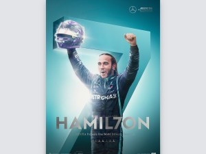 Mercedes-AMG Petronas F1 Team - HAMIL7ON - F1® World Drivers' Champion 7th Title | Collector's Edit