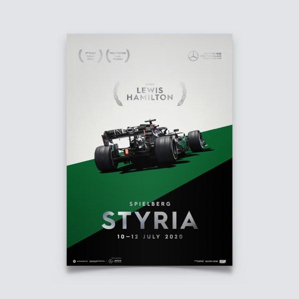 Mercedes-AMG Petronas F1 Team - Styria 2020 - Lewis Hamilton   Collector's Edition