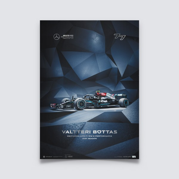 Mercedes-AMG Petronas F1 Team - Valtteri Bottas - 2021   Collector's Edition