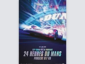 Porsche 917 KH - Future - 24h Le Mans - 2054   Collector's Edition