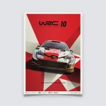 WRC 10 - TOYOTA - THE OFFICIAL GAME COVER | LIMITED EDITION