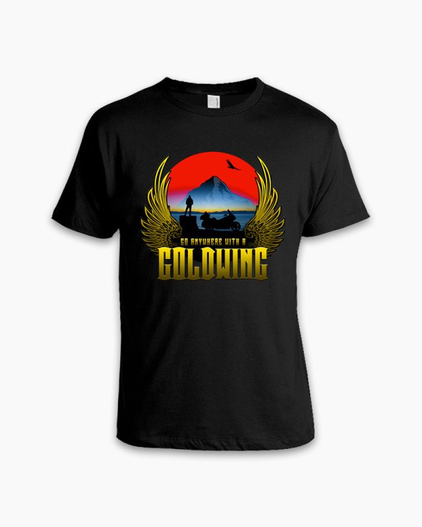 Gold Wing Tee Gwrra Store