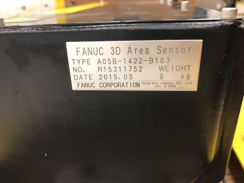FANUC 3D Area Sensor for Bin Picking (IP65)