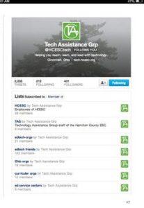 Twitter for Teachers iBook screen shot