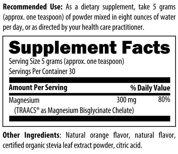 Magnesium Chelate Powder