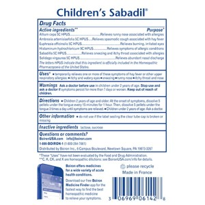 Children's Sabadil Pellets