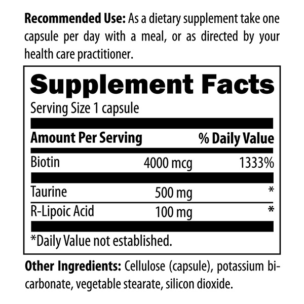 Stabilized R-Lipoic Acid Supreme