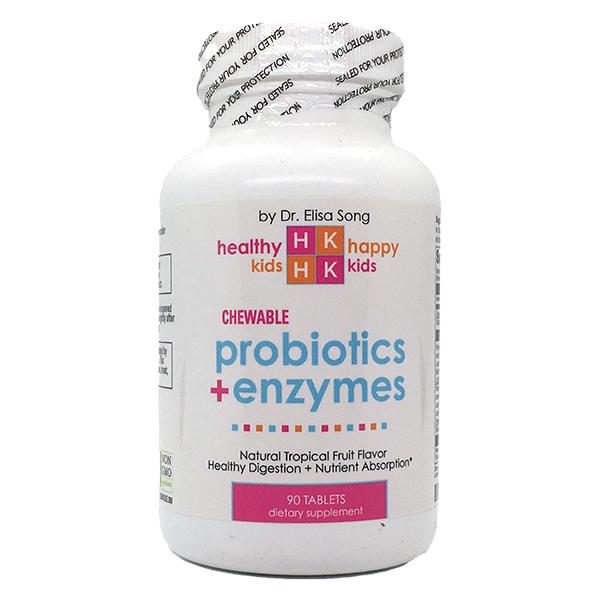 Probiotics+Enzymes Chewable